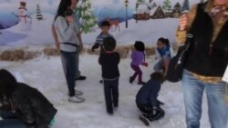 California Kids Get Taste of Winter at Museum