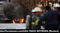 Local da explosão da caravana,Nashville