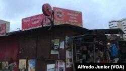 Barraca, bairro da Malhangalene, Maputo