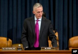 FILE - Representative Trey Gowdy, Oct. 22, 2015.