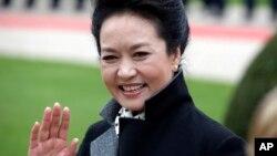 中国国家主席习近平妻子彭丽媛