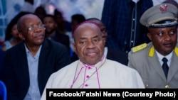 Mgr Gérard Mulumba, oncle du président Félix Tshisekedi, Kinshasa, le 1er février 2019. (Facebook/Fatshi News)