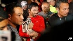 Mayweather a remporté le 2 mai 2015 à Las Vegas le combat de boxe le plus vus au monde contre le Philippin Manny Pacquiao.