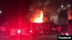 Kebakaran di Oakland, California