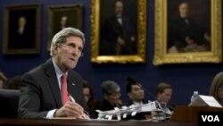 ທ່ານ John Kerry ລັດຖະມົນຕີ ກະຊວງຕ່າງປະເທດ ສະຫະລັດ.