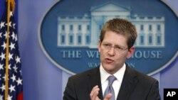 卡尼介紹美國制裁利比亞措施。