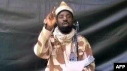 Thủ lĩnh nhóm chủ chiến Hồi giáo Boko Haram Abubakar Shekau.