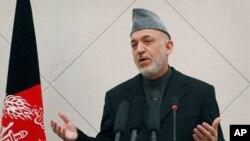 하미드 카르자이 아프간 대통령 (자료사진)