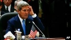 El secretario de Estado, John Kerry, participa en la primera cumbre de Estados Unidos-ASEAN en Brunei.