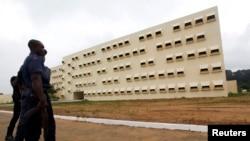 La prison Maca d'Abidjan, le 16 août 2011.