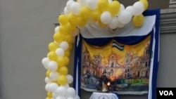 el embajador de los Estados Unidos en Nicaragua, Kevin Sullivan, participó en la purísima de la Iglesia Divina Misericordia y la Iglesia Cristo de Esquipulas. Foto: Daliana Ocaña - VOA.