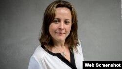 """კრისტინა ტარდაგუილა, პოინტერის ინსტიტუტის ინციატივის """"ფაქტების გადამოწმების საერთაშორისო ქსელის"""" ასოცირებული დირექტორი."""