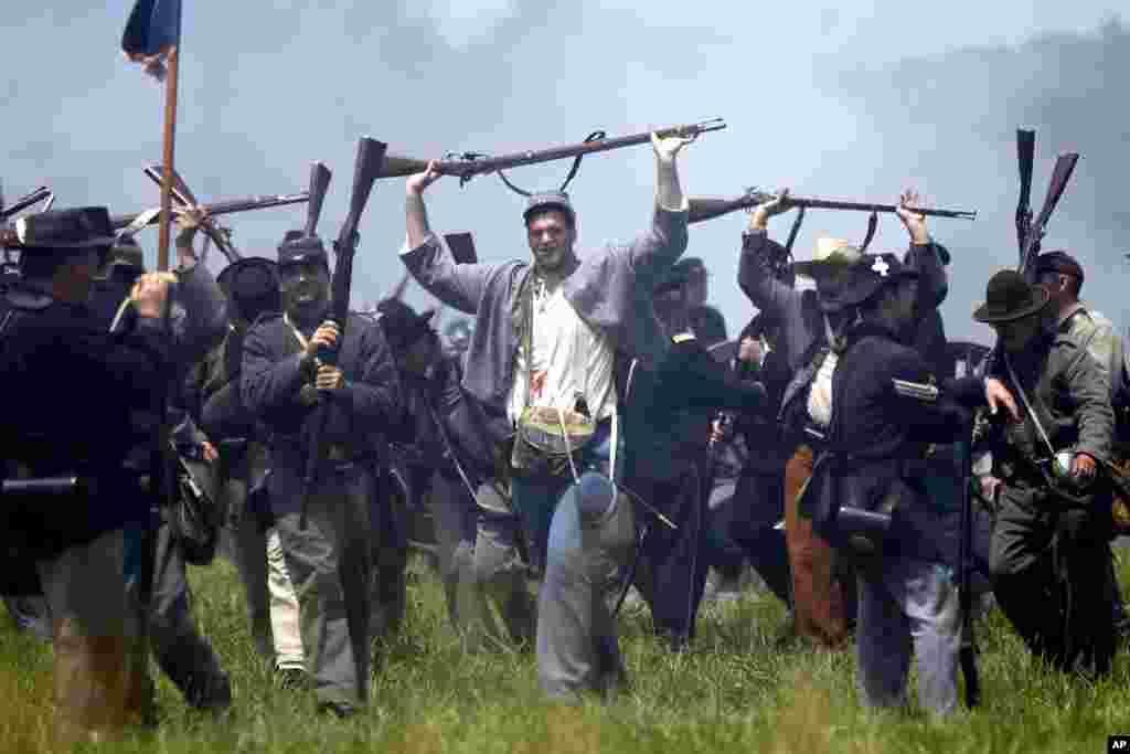 Prisioneros de guerra, la rendición de los ejércitos del Sur.