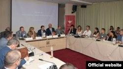 Okrugli sto ,,NATO članstvo – šansa za ekonomiju i biznis''. Autor: Komunikacioni tim Savjeta za članstvo u NATO