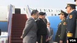 美軍參謀長聯席會議主席登普西星期天抵達北京