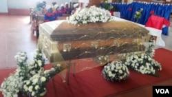 Mutumbi wevaive mufundisi weUnited Methodist Church, Reverend Isaac Mawokomatanda