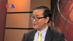 Sam Rainsy Encourages Change Through Votes, Not Violence (Cambodia news in Khmer)
