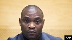 Germain Katanga, ex-chef de milice de République démocratique du Congo, assiste à son procès devant la Cour pénale internationale (CPI) à La Haye, 23 mai 2014.