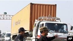 اموال تجارتی در سرحد مشترک پاکستان و افغانستان
