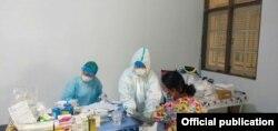 (ဓာတ္ပံု -Community Fever Clinic - Yangon Network)