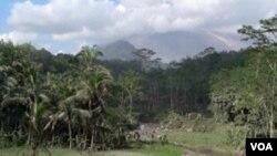 Daerah pedesaan dekat gunung Merapi (foto: dok)