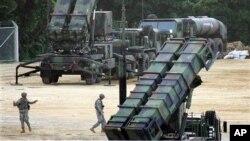 한국이 도입을 검토 중인 패트리어트 PAC-3 지대공 요격미사일. (자료사진)
