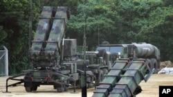 한국 군이 도입을 검토 중인 패트리어트 PAC-3 지대공 요격미사일. (자료사진)