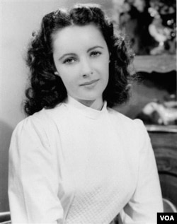 Foto Elizabeth Taylor yang diambil pada tahun 1946.