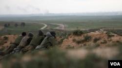 Los ataques procedentes de la Franja de Gaza contra territorio israelí han aumentado desde el pasado sábado.