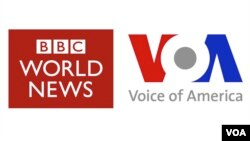 Ibimenyesto vya BBC na VOA
