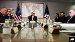 Predsjednik Obama sa članovima Vijeća za nacionalu sigurnost