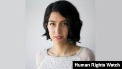 تارا سپهری فر، محقق سازمان دیده بان حقوق بشر