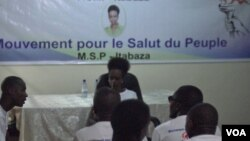 Aristide Rwigara joint par Jacques Aristide