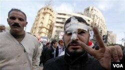 Plizyè Gouvènman Pwononse yo Kont Atak ki Fèt Sou Manifestan yo Ann Ejipt
