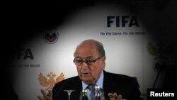 Chủ tịhc FIFA Sepp Blatter (ảnh tư liệu).