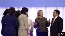 ԱՄՆ-ի արտգործնախարար Քլինթընի այցը Մոնղոլիա, 9 հուլիսի 2012թ.