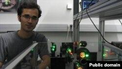 امید کوکبی دانشجوی فوق دکترای فیزیک که در ایران زندانی است