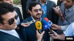 سعید مرتضوی پیش از حضور در یکی از جلسات دادگاه