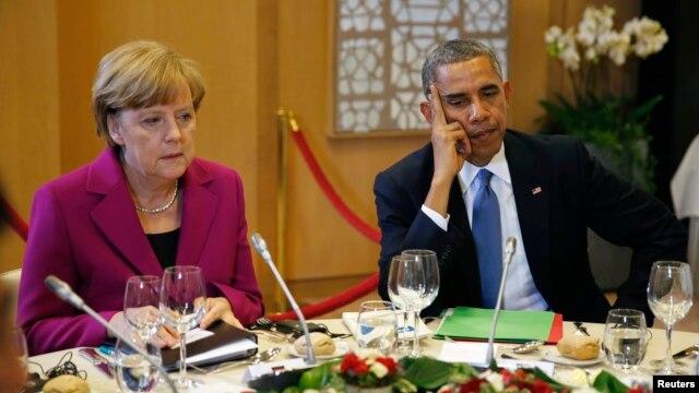 Ангела Меркель и Барак Обама  (фото из архива)