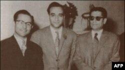ازر است به چپ: حسین تهرانی، فرامرز پایور و حسین دهلوی
