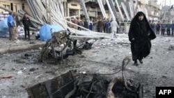 Місце атаки в багдадському районі Садр-ситі