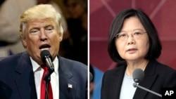 El presidente electo de Estados Unidos, Donald Trump, recibió una llamada telefónica de la presidente de Taiwán, Tsi Ing-wen, el mes pasado.