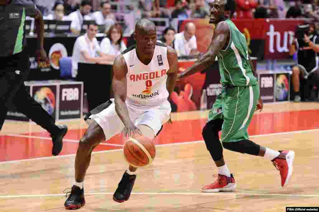 Leonel Paulo, selecção de Angola no AfroBasket2015