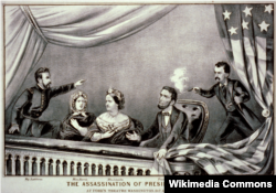 """The Assassination of President Lincoln"" by Currier and Ives"