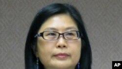 台湾陆委会主委 赖幸媛在立法院谈一国两区