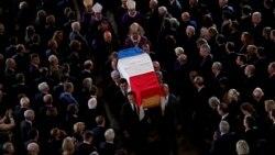 L'ultime adieu de la France à Jacques Chirac