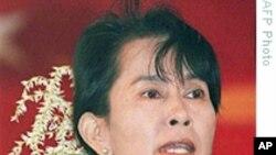 美国国务卿克林顿呼吁缅甸释放昂山素季