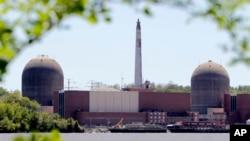 미국 뉴욕주 부캐넌의 핵 발전소. (자료사진)
