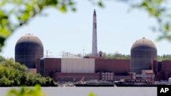 Nhà máy điện hạt nhân Indian Point ở Buchanan, phía bắc thành phố New York.