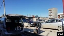 Fuel shortage in Kobane